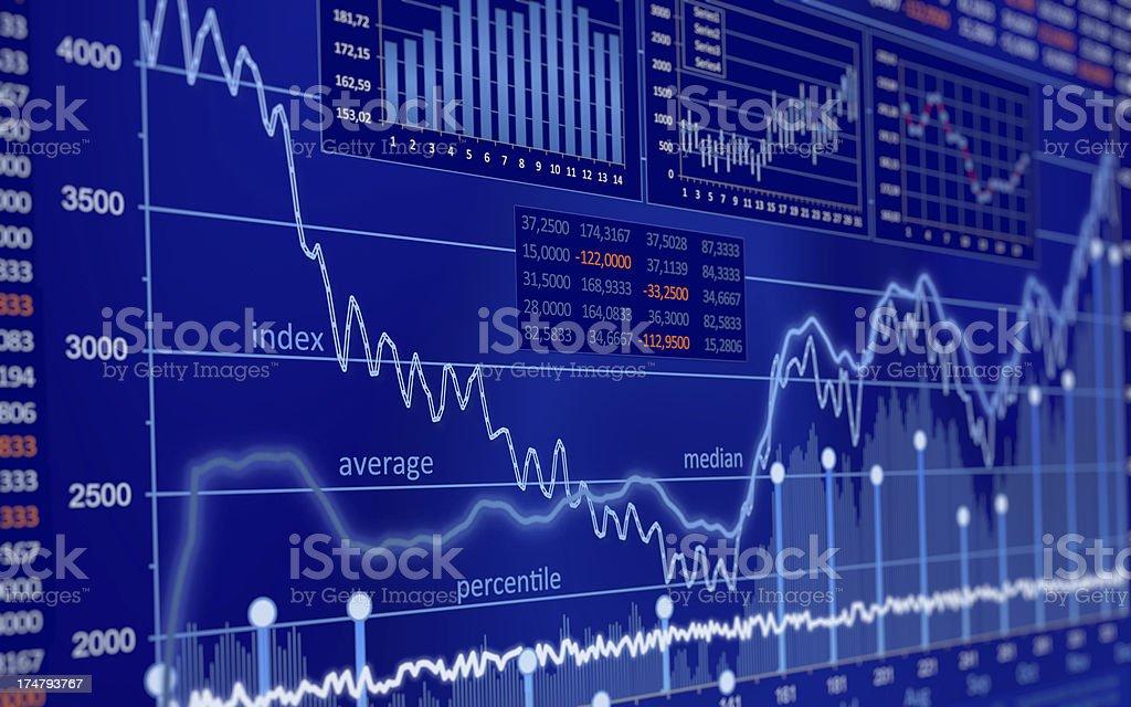 Generic Chart royalty-free stock photo