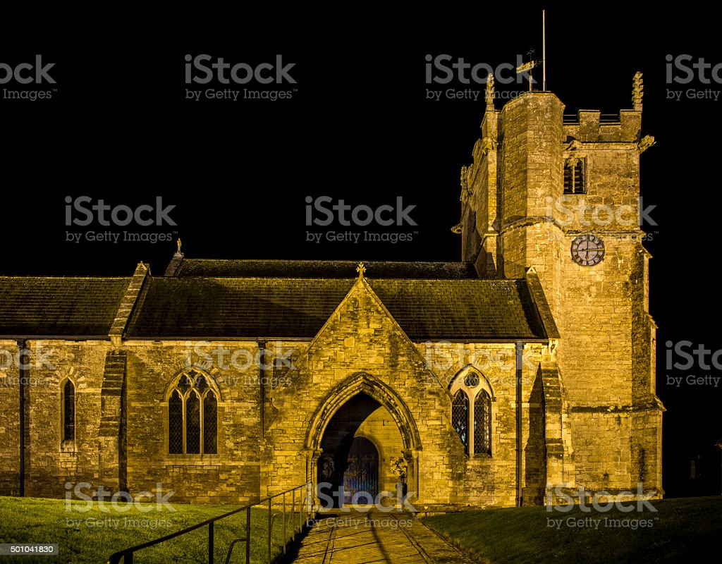 Generic Church stock photo