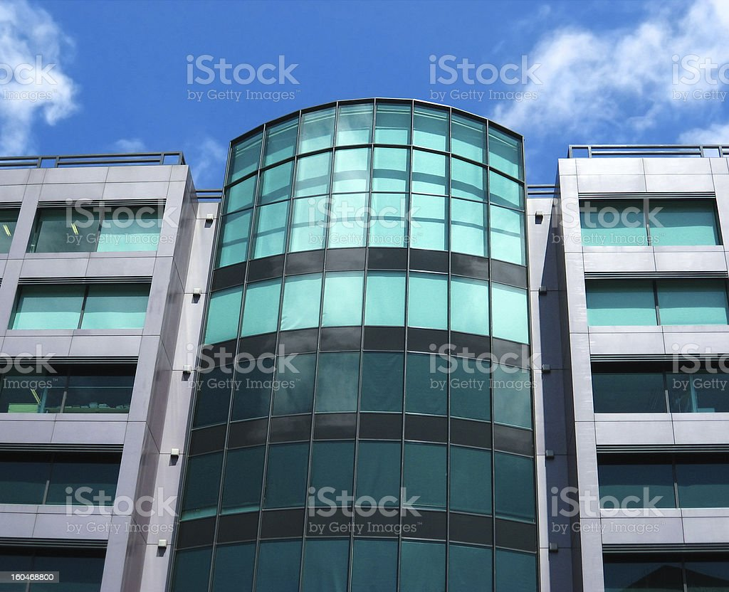 Generic city building royalty-free stock photo