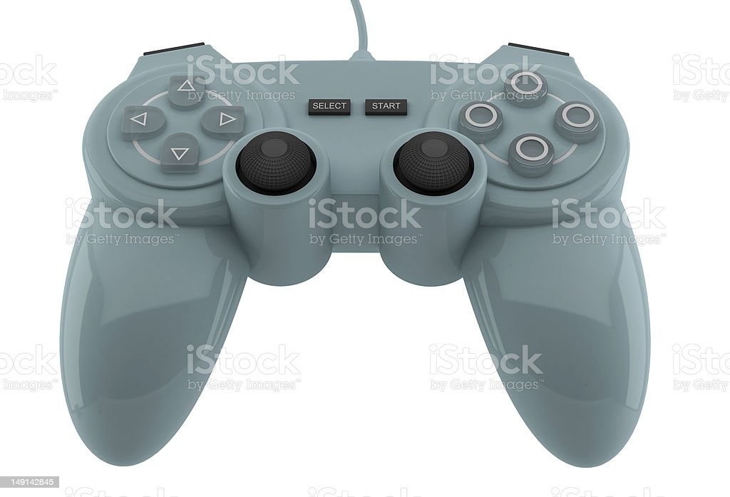 Generic gamepad stock photo