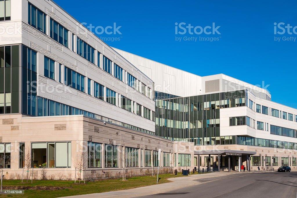 Generic Hospital Building stock photo