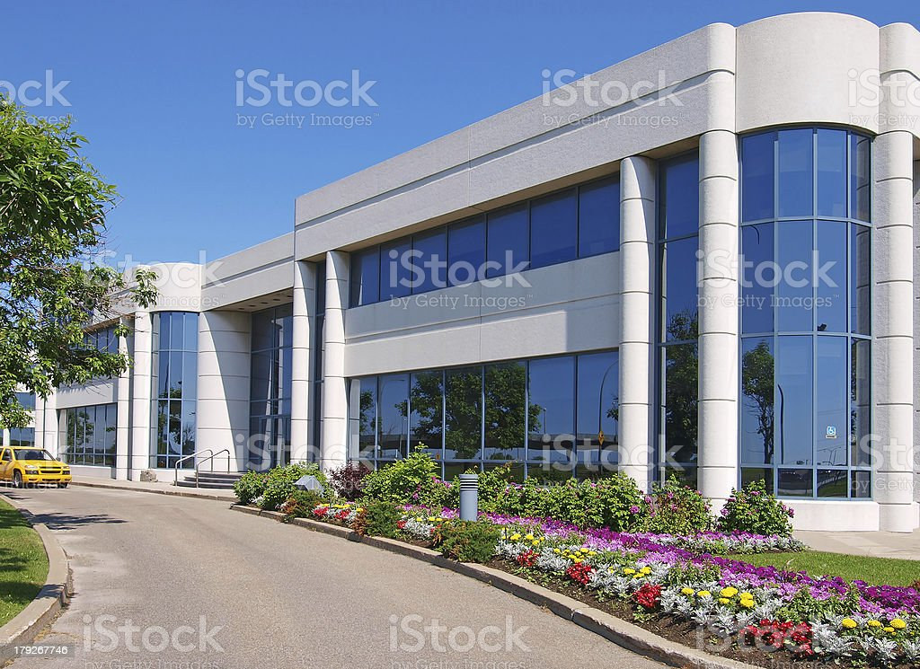 Generic industrial building stock photo