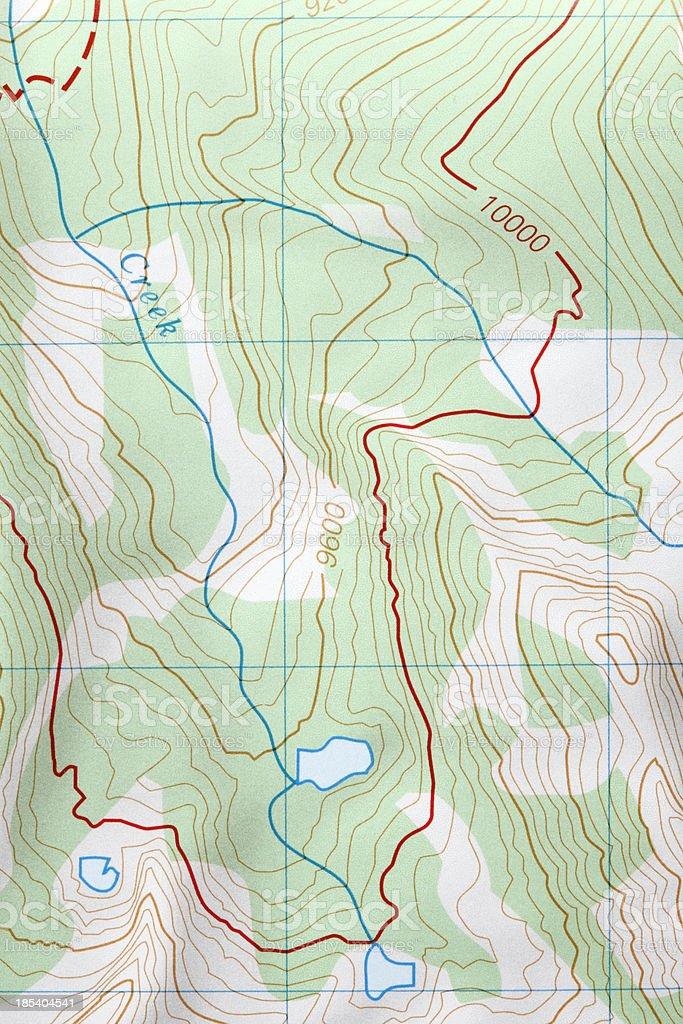 Generic Map stock photo