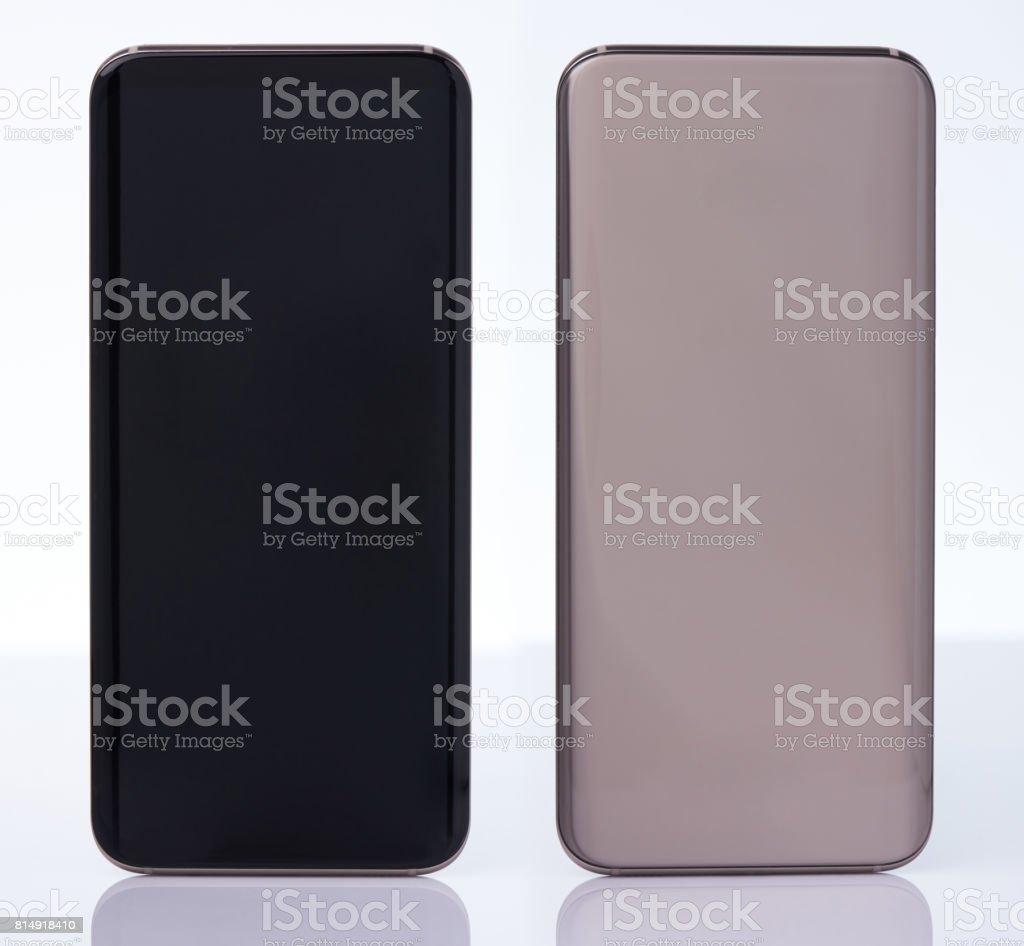 Generic modern smartphone stock photo