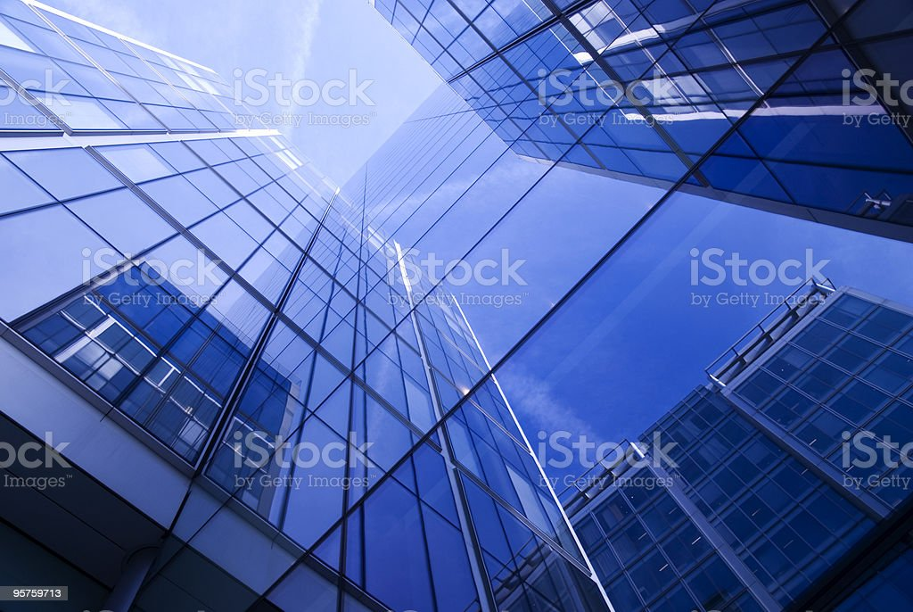 Generic Office Building royalty-free stock photo
