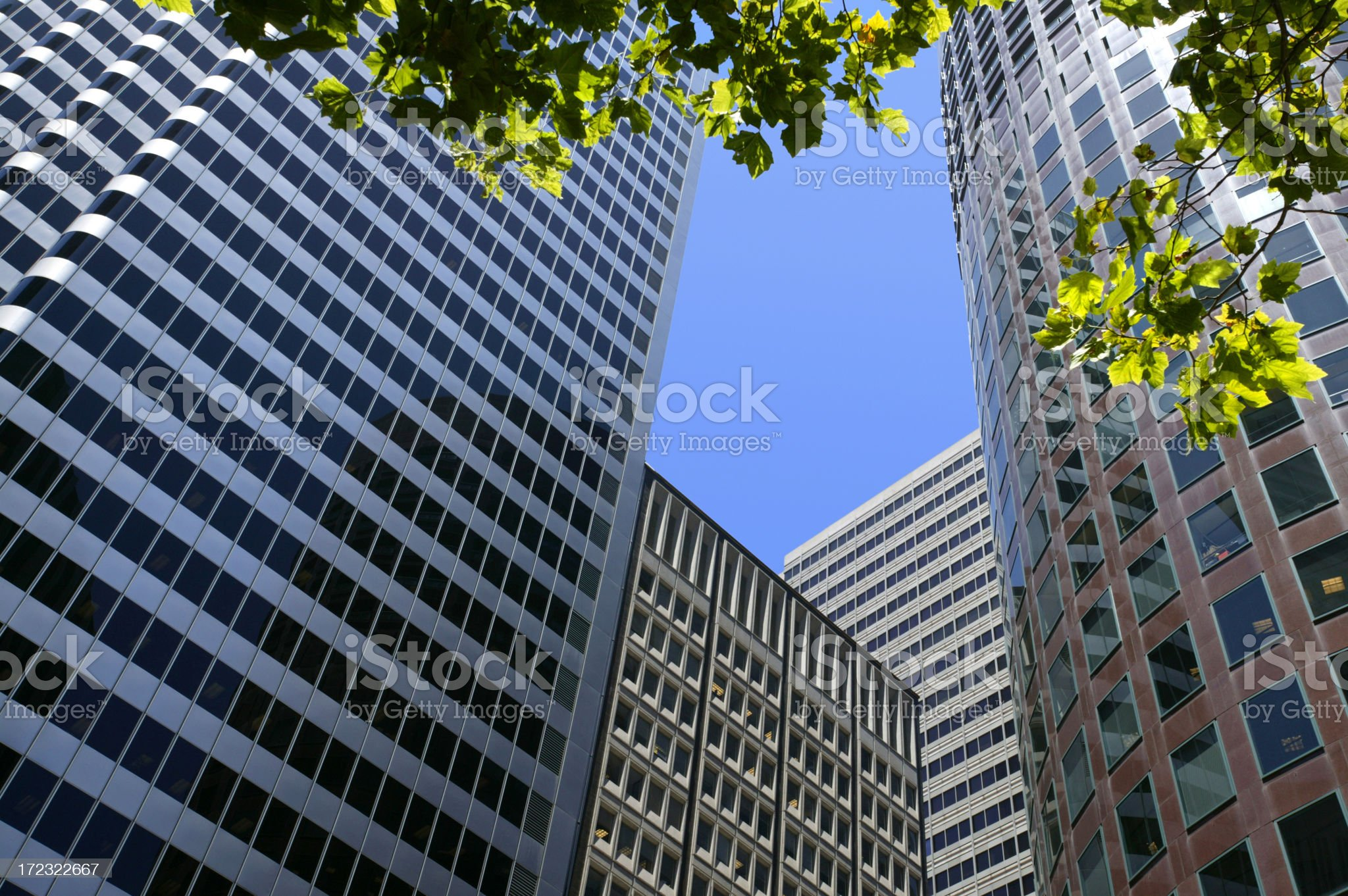 Generic Office Buildings royalty-free stock photo