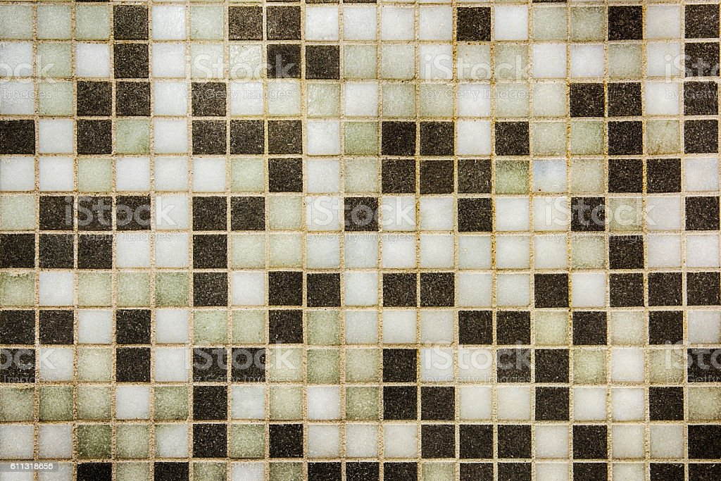 Generic One Inch Tile Background stock photo