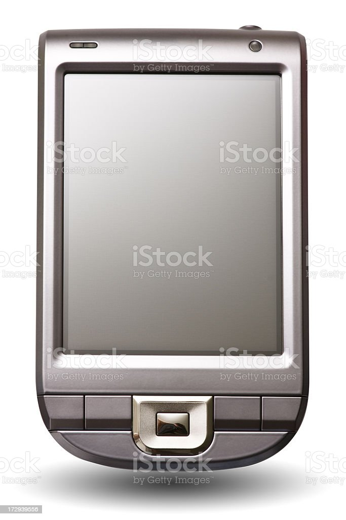 Generic PDA royalty-free stock photo