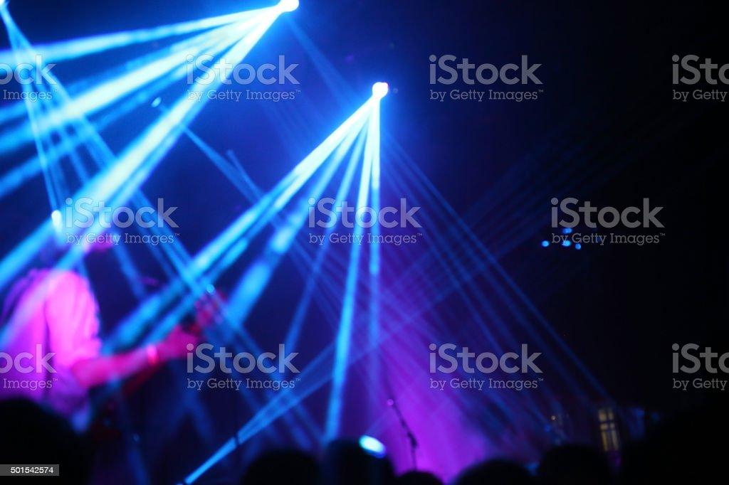 Generic performance lightings stock photo