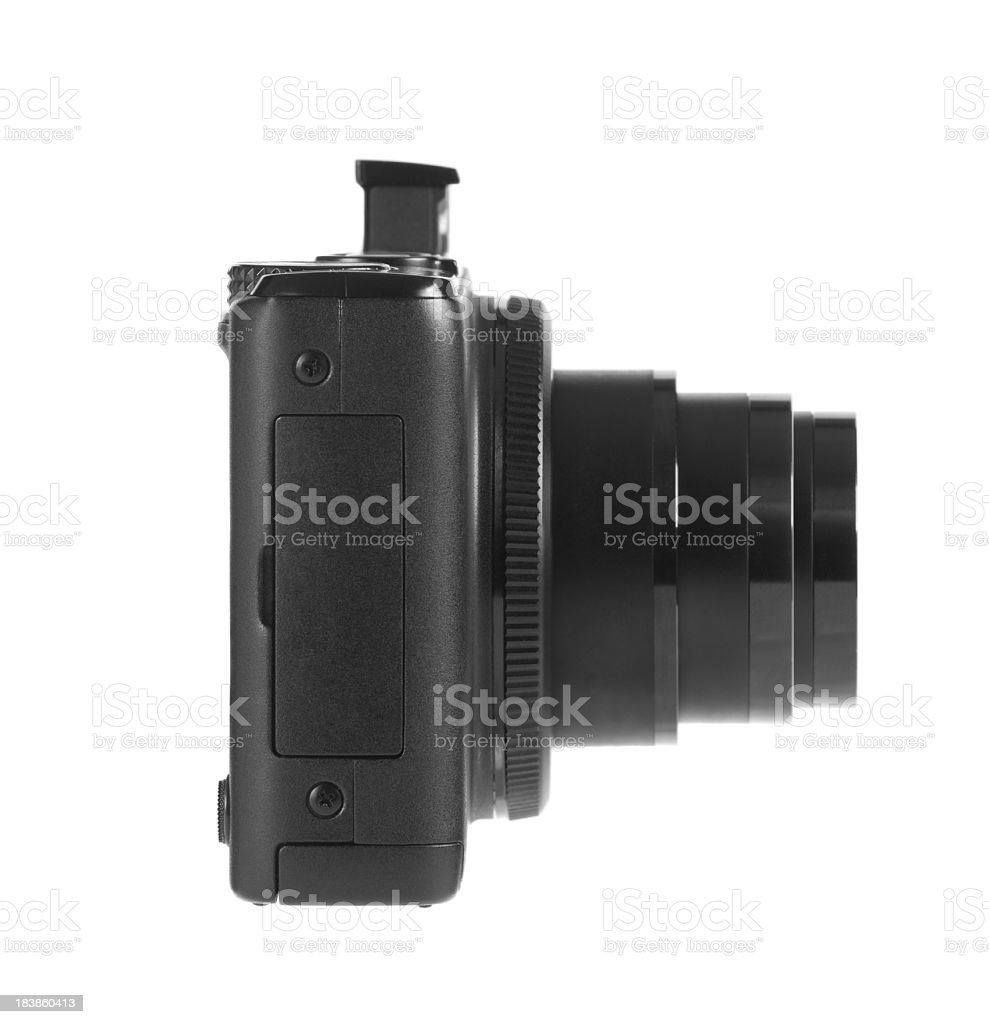 Generic point and shoot camera royalty-free stock photo