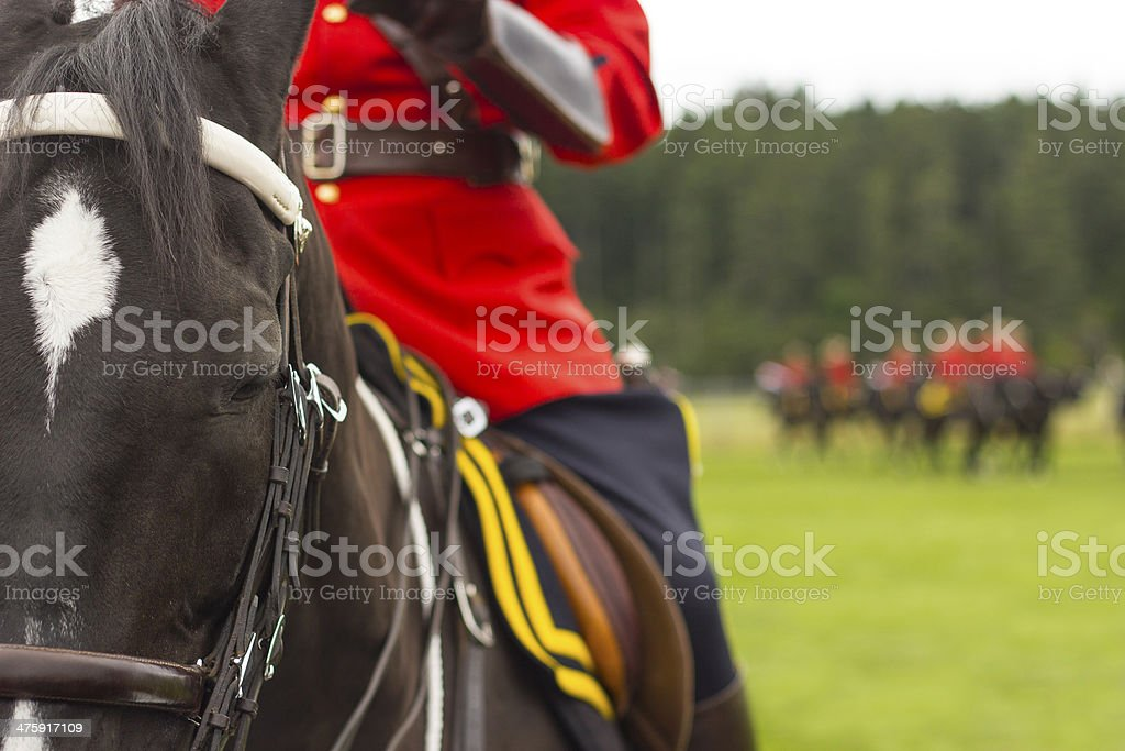 Generic RCMP Background stock photo