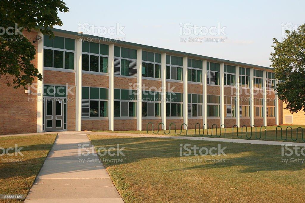 Generic school building stock photo