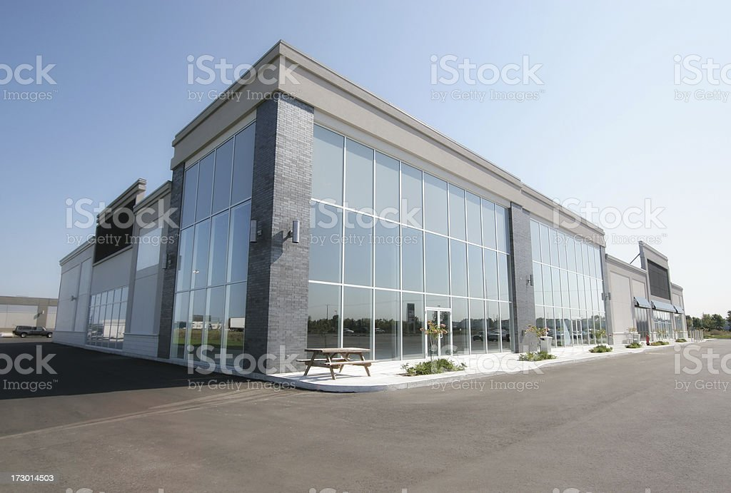 Generic Store Building Exterior stock photo