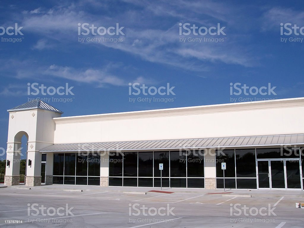 Generic Storefront stock photo