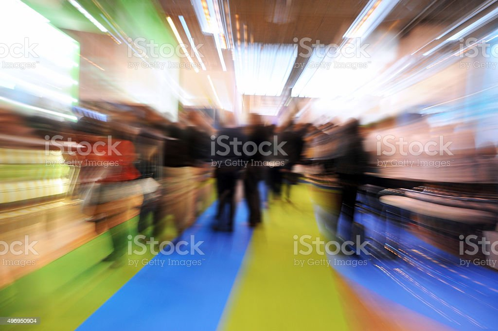 Generic Tradeshow Scene stock photo