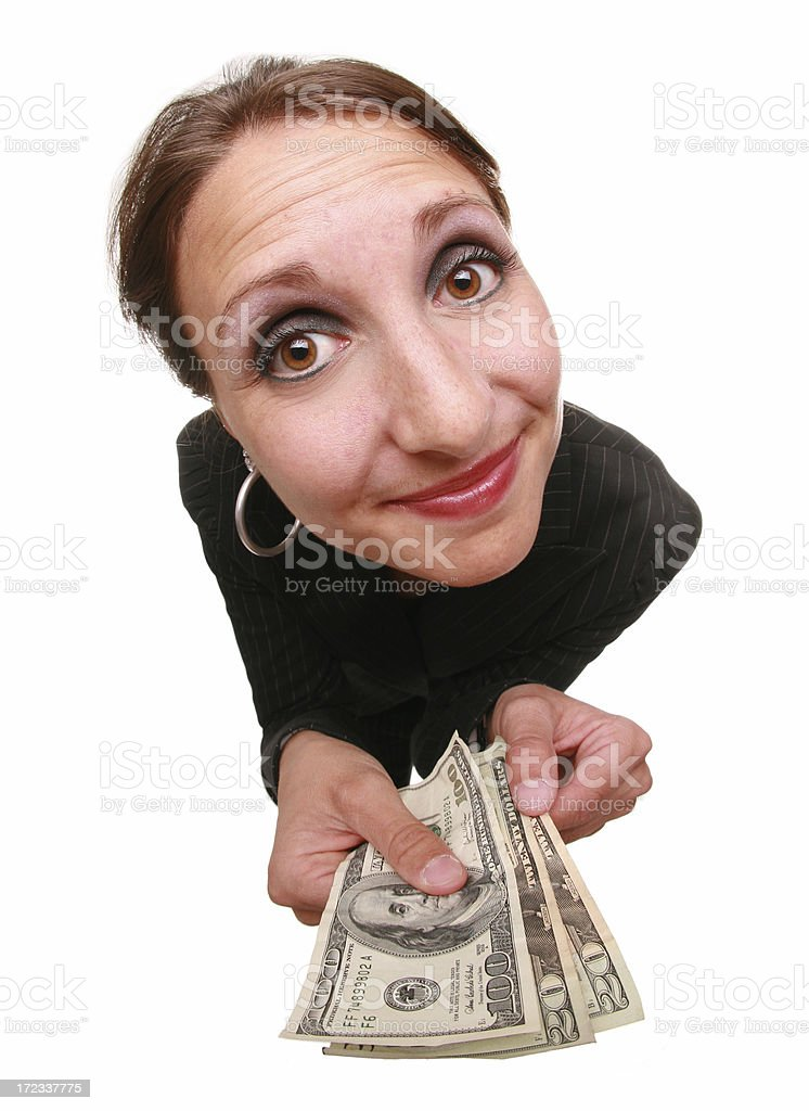 Generosity royalty-free stock photo