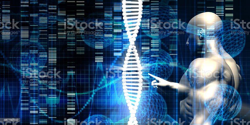 Genetic Engineering Industry stock photo