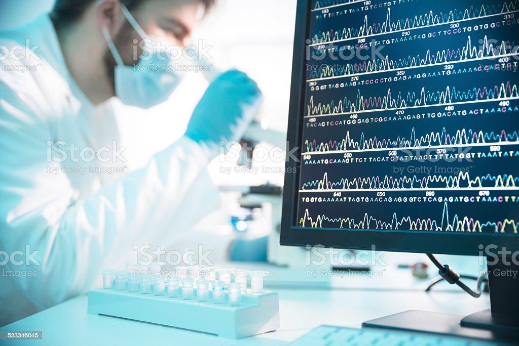 Genetic Engineering stock photo