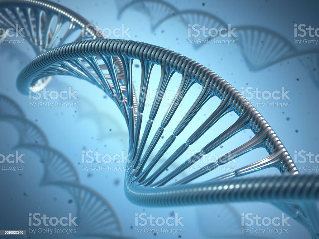 DNA Genetic Engineering stock photo
