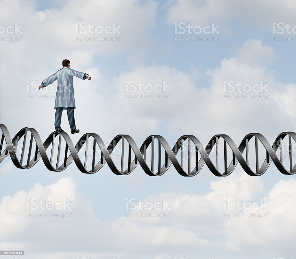 Genetic Research Doctor stock photo