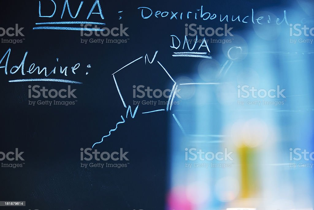 Genetic Research royalty-free stock photo
