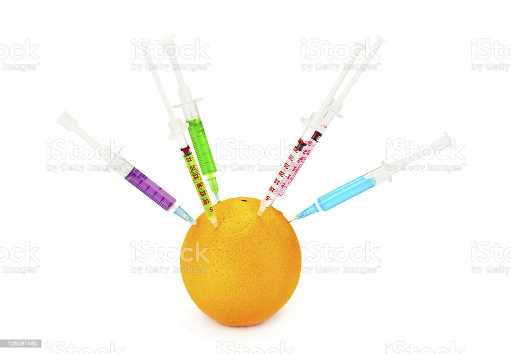 Genetically Modified Food royalty-free stock photo