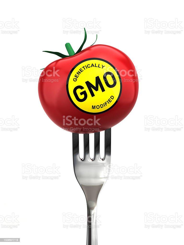 Genetically modified food stock photo