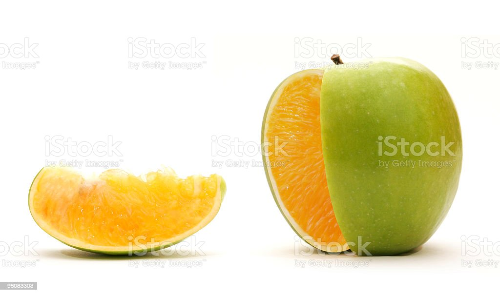 Genetically modified food stock photo