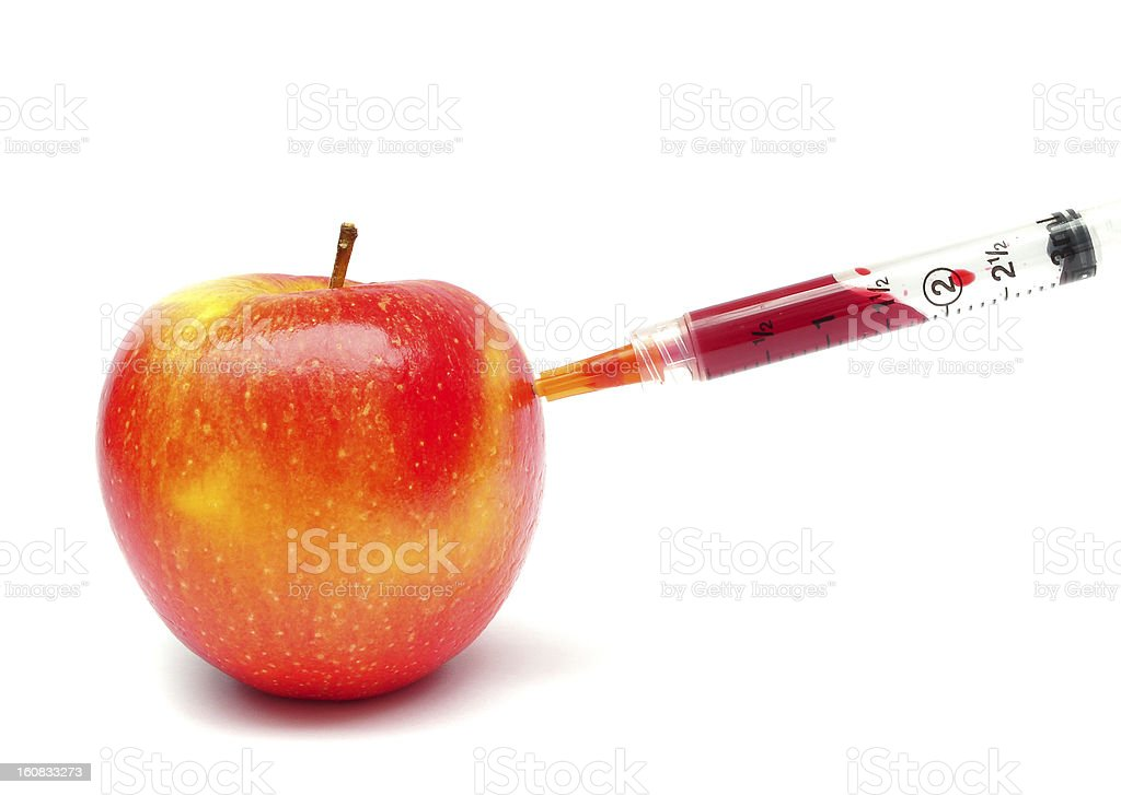 genetically modified fruit stock photo