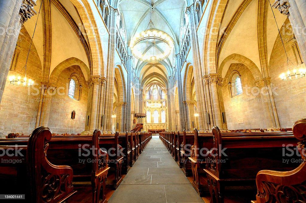 Geneva Cathedral (St-Pierre) stock photo