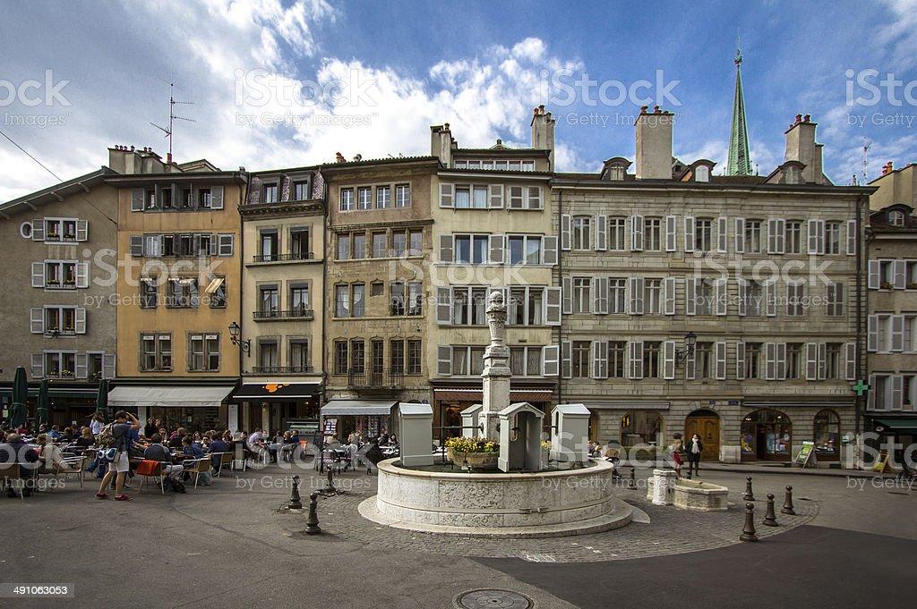 Geneva, Switzerland. stock photo
