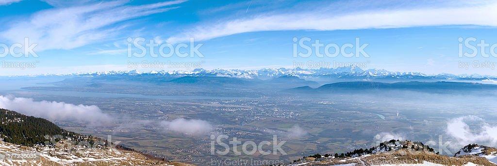 geneva valley stock photo
