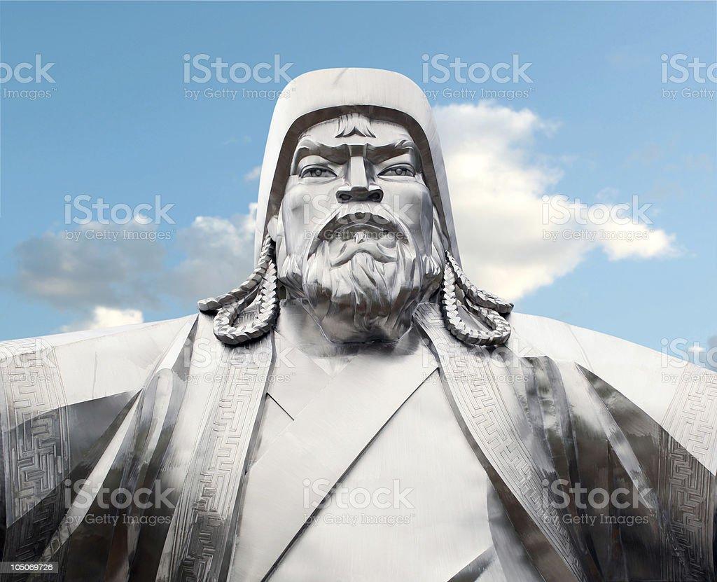 Genghis Khan - Mongolian Emperor royalty-free stock photo
