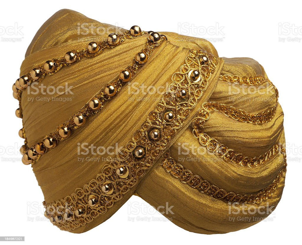 Genie Hats Isolated on White royalty-free stock photo