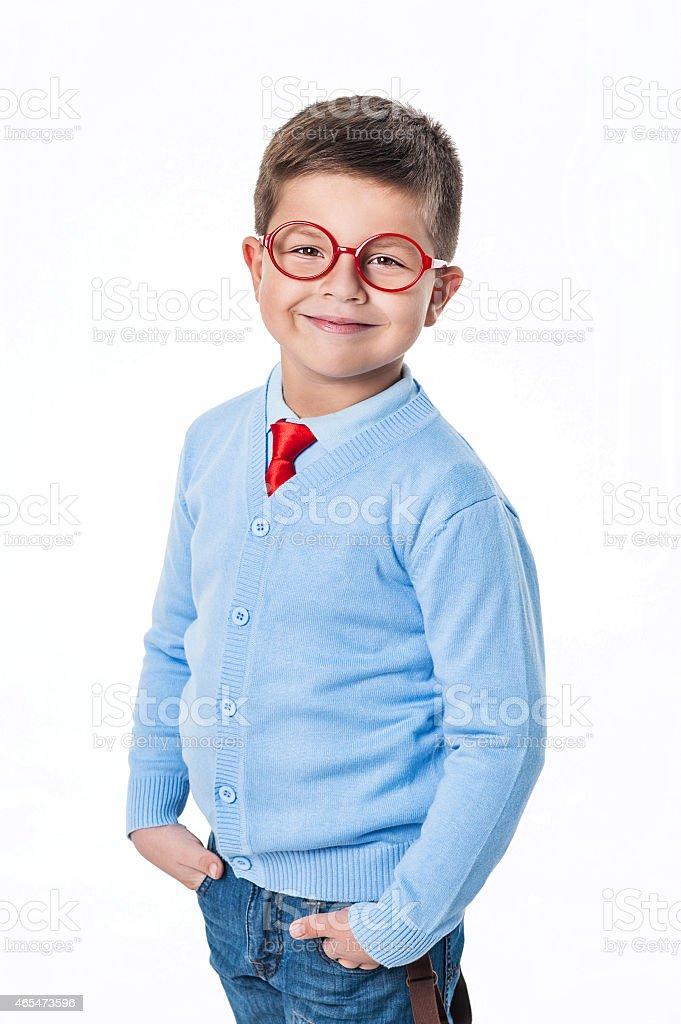 Genius stock photo