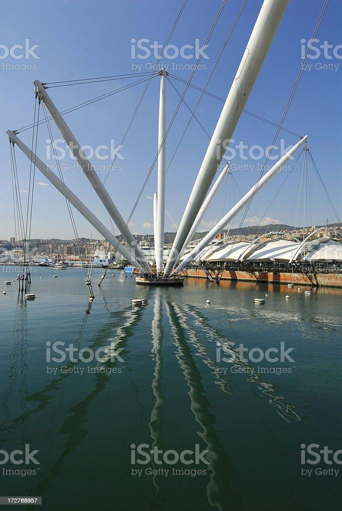 Genoa Bigo royalty-free stock photo