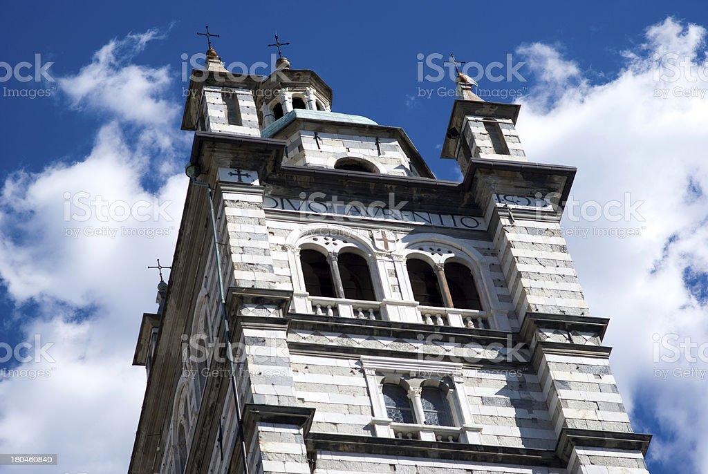 Genoa Cathedral royalty-free stock photo