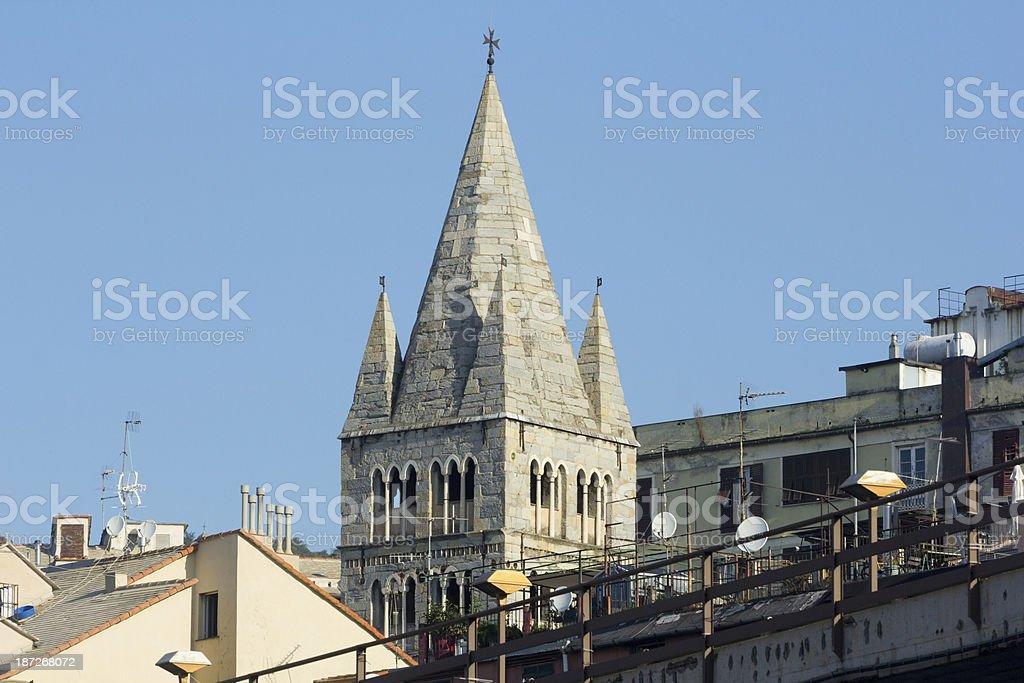 Genoa in Liguria, Italy royalty-free stock photo