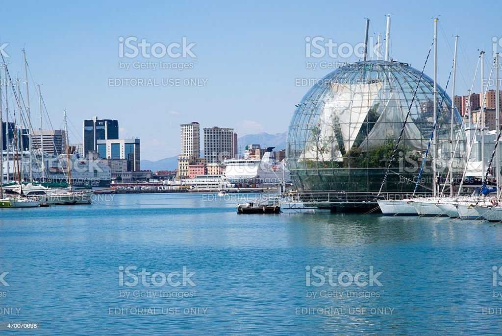 Genoa, Italy stock photo
