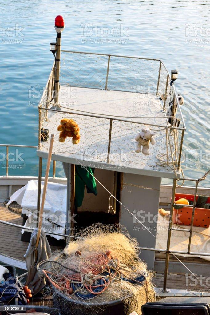 genoa italy stock photo