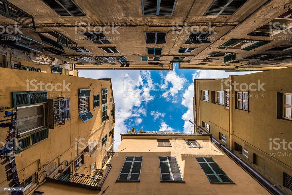 Genoa, Liguria region (Italy) stock photo