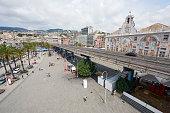 Genoa Old Port Area