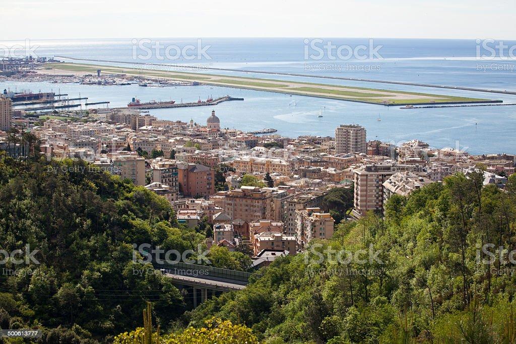 Genova Pegli stock photo