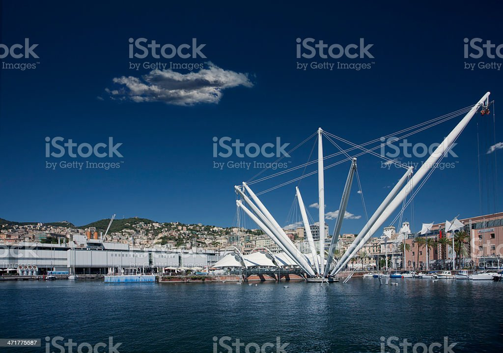 genoa stock photo
