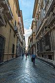 Genoa, the capital of Liguria region (Italy)