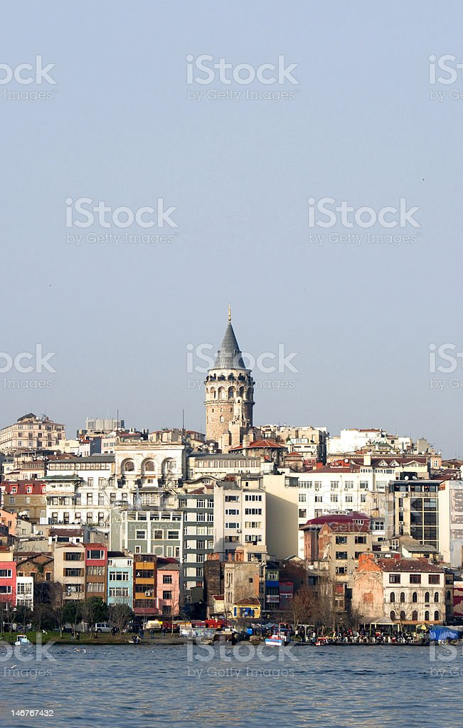 Genoese Castle Istanbul royalty-free stock photo