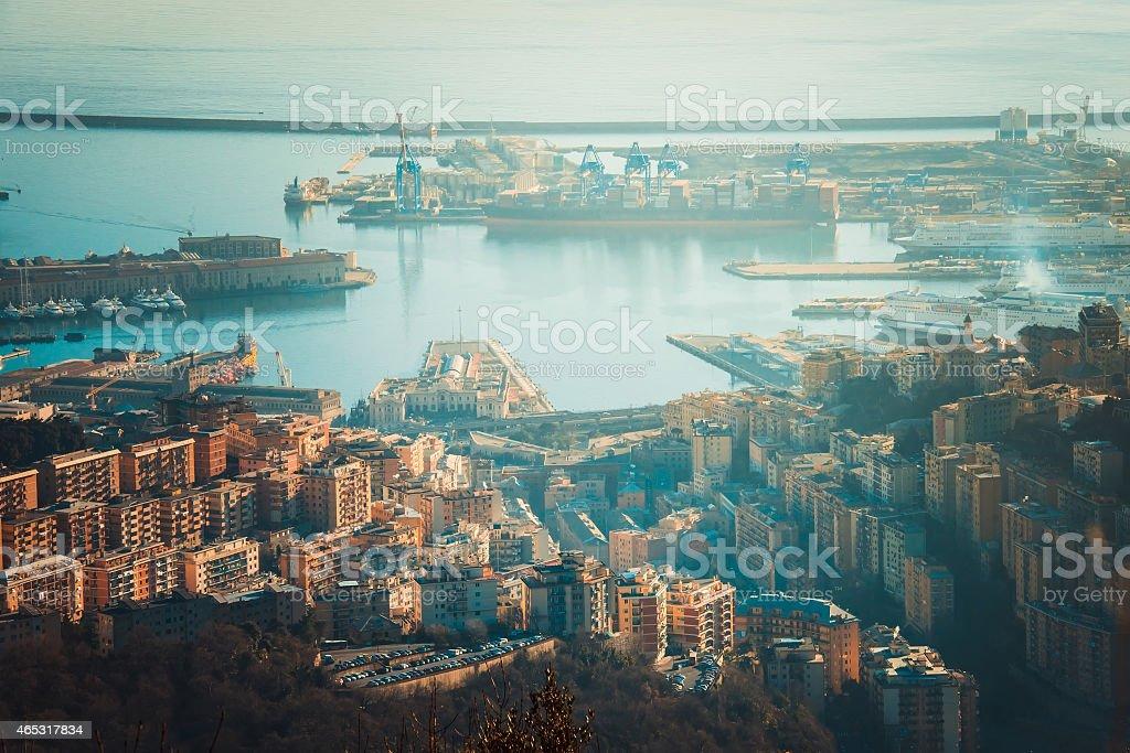 Genova stock photo