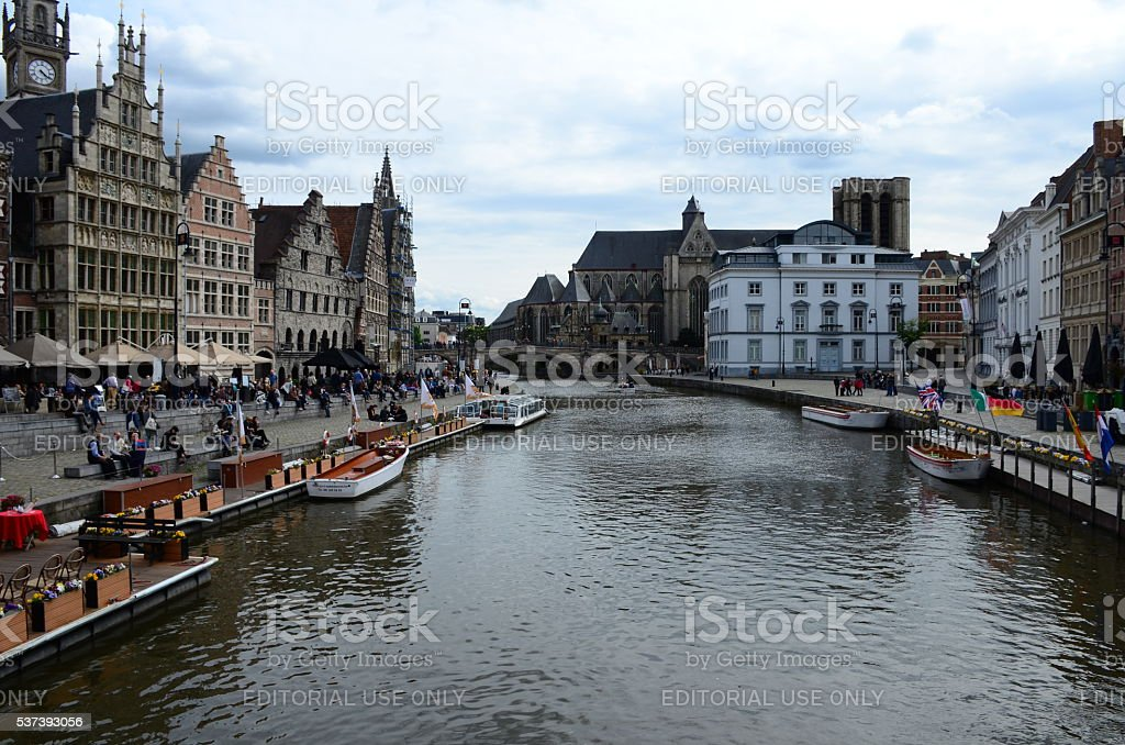 Gent, Belgium stock photo