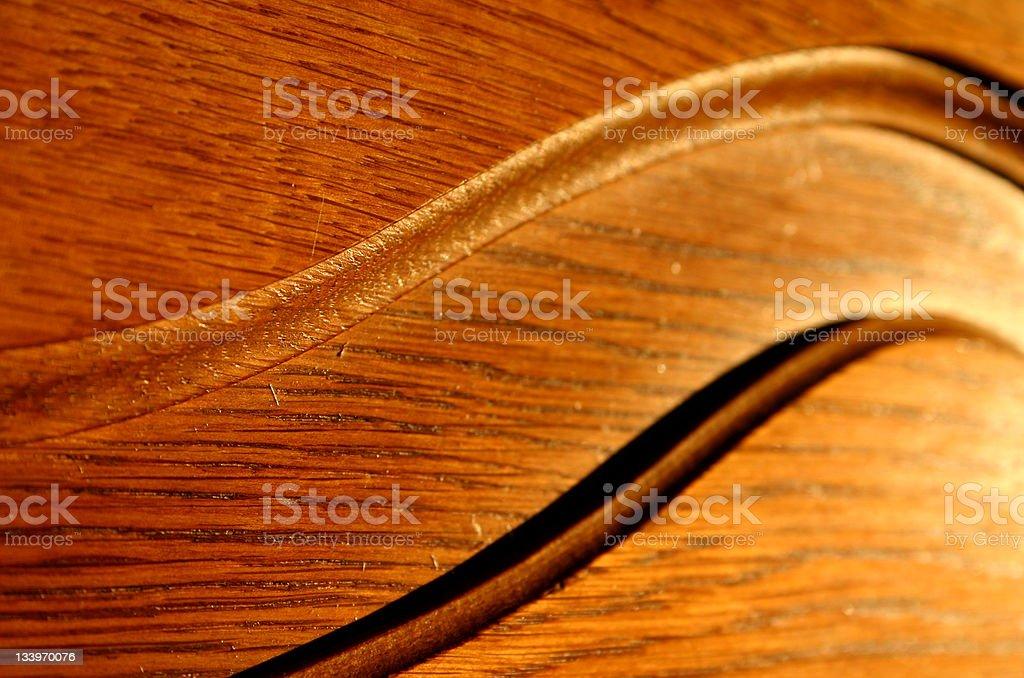 Gentle curve stock photo
