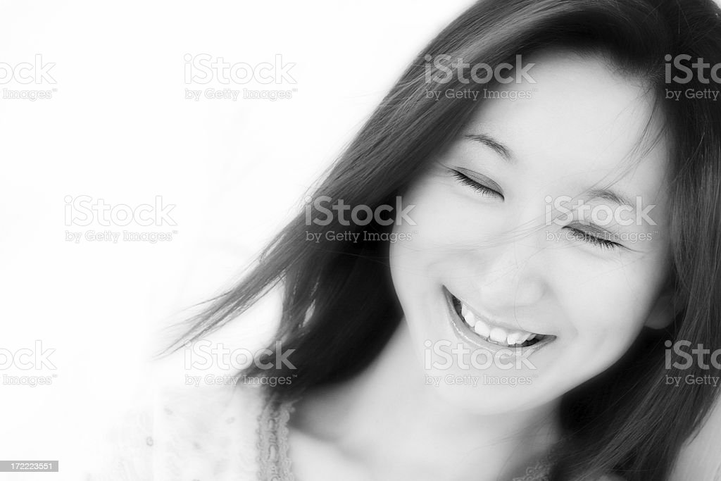 Gentle Laughter royalty-free stock photo